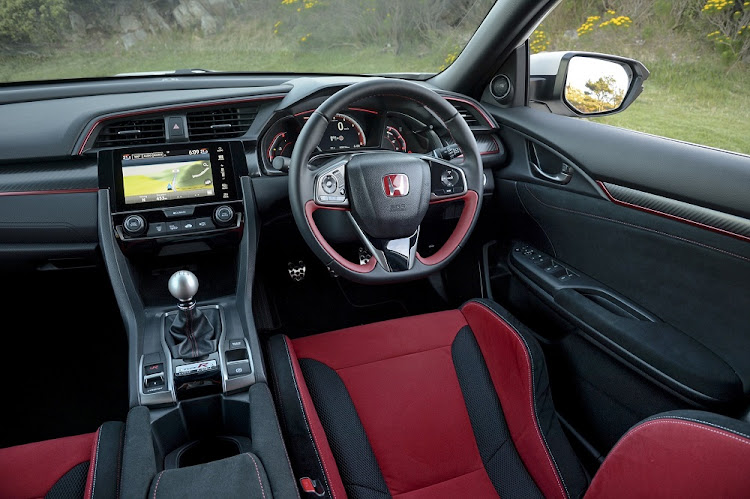 The interior is surprisingly comfortable with decent hatchback space. Picture: QUICKPIC