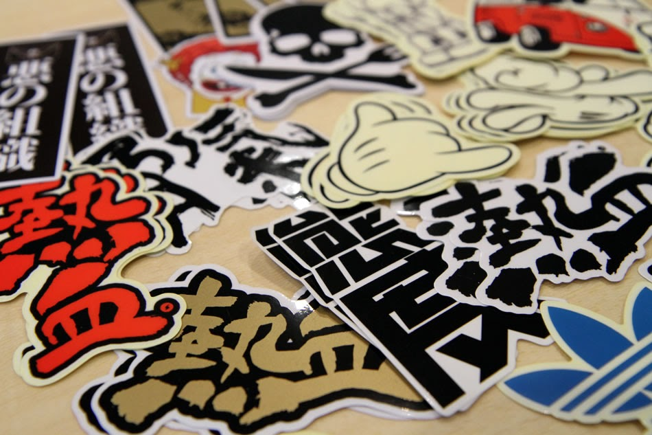 Chinese Word Stickers Collection