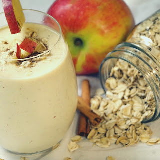Healthy Cinnamon Apple Smoothie.