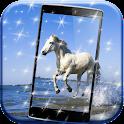 Bianco Cavallo Sfondo HD icon