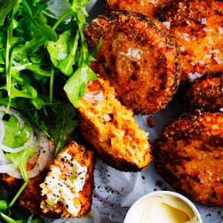 Salmon And Sweet Potato Croquettes