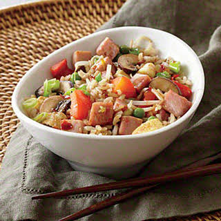 Ham and Veggie Fried Rice.
