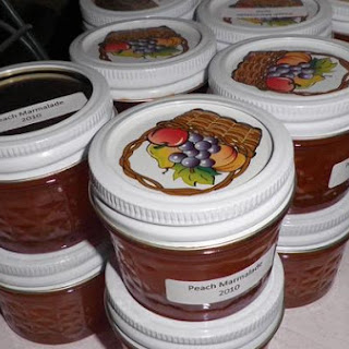 Fresh Peach Marmalade