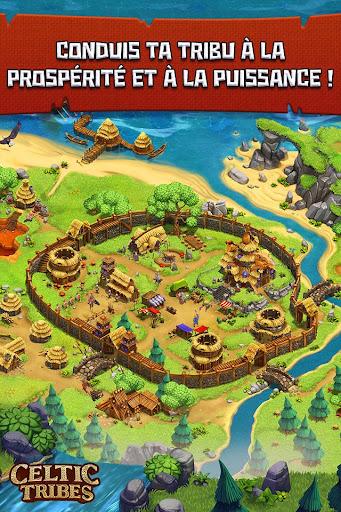 Code Triche Celtic Tribes - MMO de stratu00e9gie construction APK MOD screenshots 2