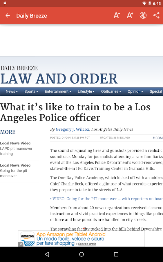 Los Angeles Local News- screenshot