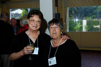 Photo: Karen Cunningham Schaeffer and Toni Calamia Stevenson