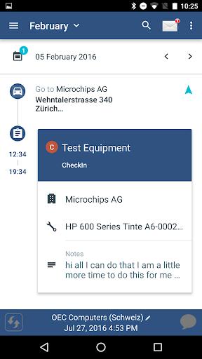 Coresystems Field Service  screenshots 1