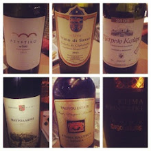 Photo: An evening of wine tasting!