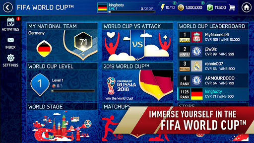 FIFA Soccer: FIFA World Cup™ 10.3.00 screenshots 1