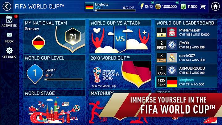 FIFA Soccer: FIFA World Cup™ Android App Screenshot
