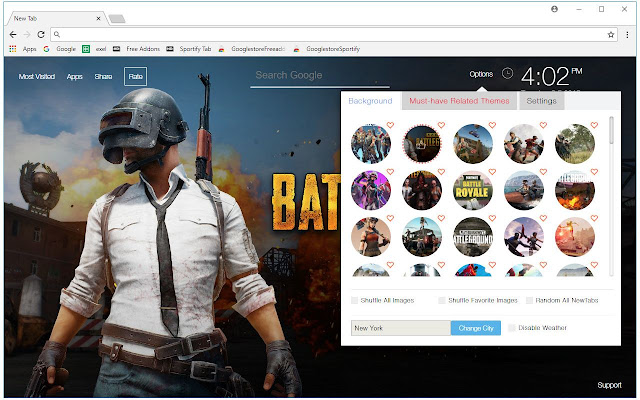 Chrome Web Store Wallpapers Cars Battle Royale Games Hd Wallpaper New Tab Free Addons