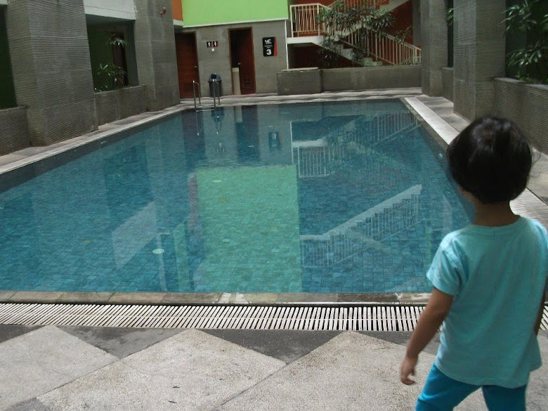 Indoor Swimming Pool: on 3rd floor in High Point Serviced Apartment
