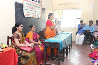 Photo: Instruction to participations by sathur sister mrs bhuvana rajagopalan