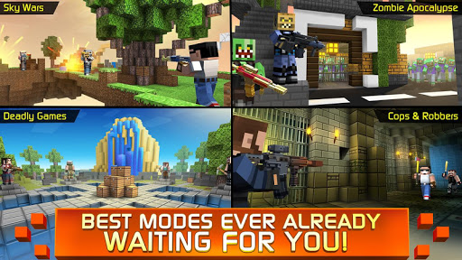 Craft Shooting - no rules in war for survival! 4.8.308 Screenshots 5