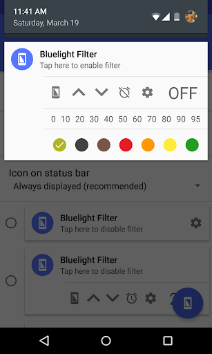 Bluelight Filter for Eye Care  screenshots 4