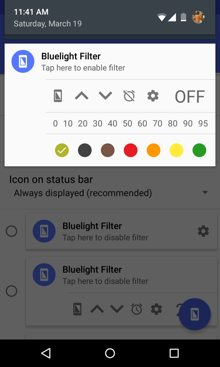 Bluelight Filter for Eye Care Screenshot 3