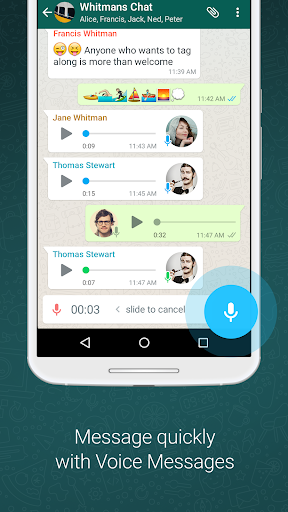 WhatsApp Messenger 2.18.156 screenshots 4