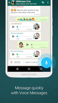 WhatsApp Messenger APK screenshot thumbnail 4