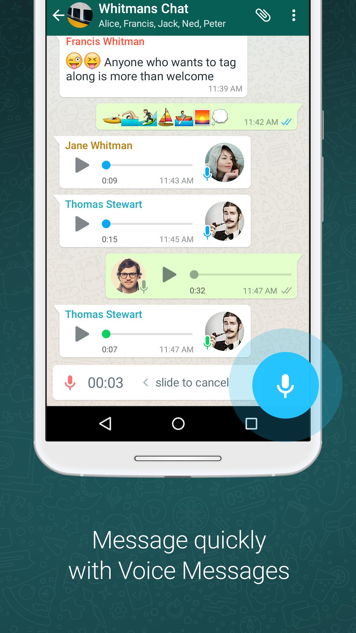 WhatsApp Messenger screenshot #4