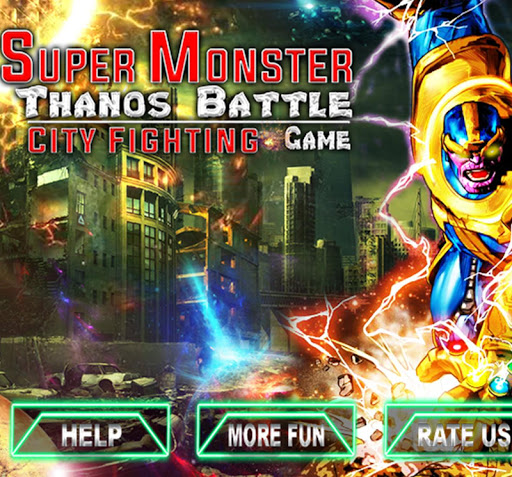 Super Monster Thanos Battle - City Fighting Game 1.1 8
