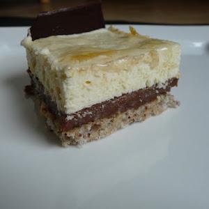 Lemon-Chocolate Mousse Cake.