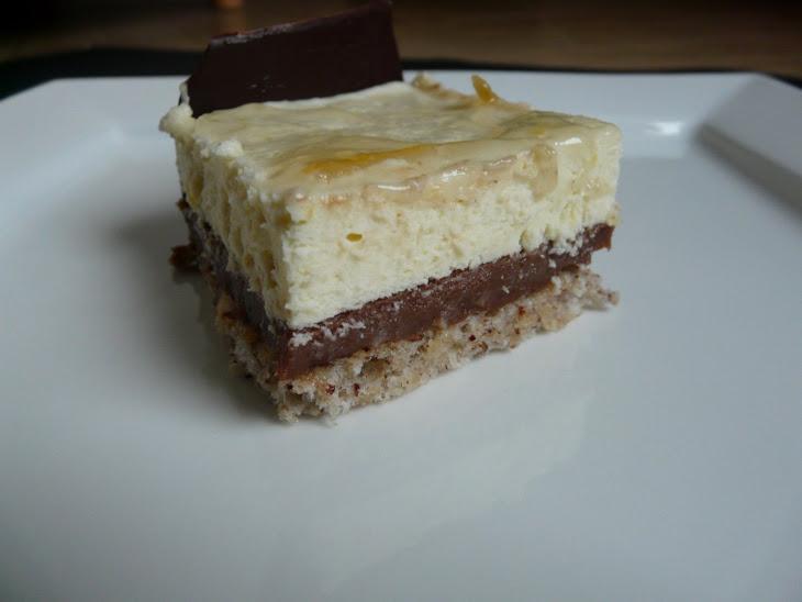 Lemon-Chocolate Mousse Cake. Recipe