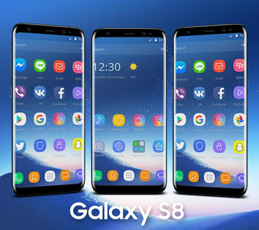 Theme for Samsung S8 1.1.5 screenshots 2