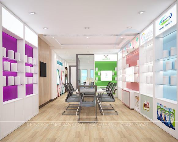 thiết kế showroom trưng bày sản phẩm