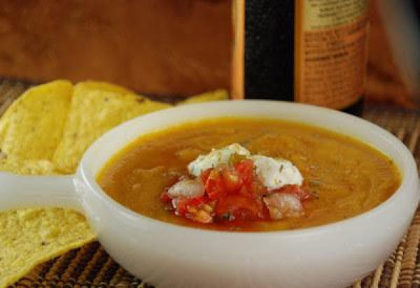 Southwest Butternut Squash Soup Recipe