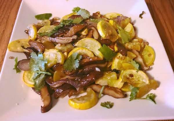 Marinated Mixed Roasted Veggies
