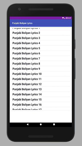 Punjabi Boliyan Lyrics for PC