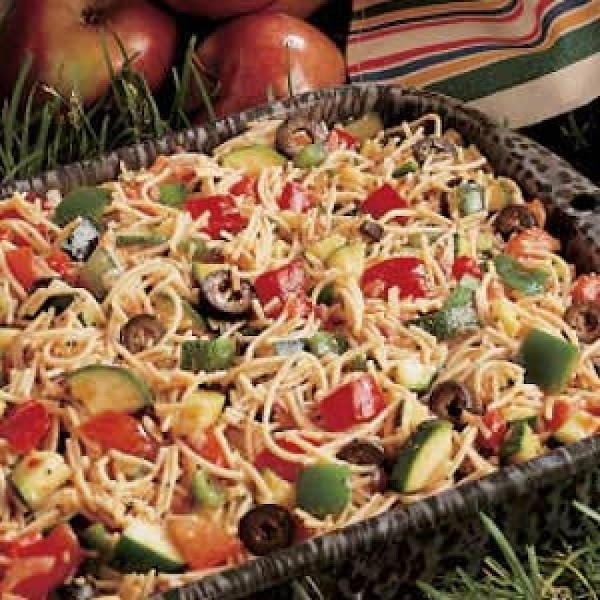 California Style Pasta Salad Recipe