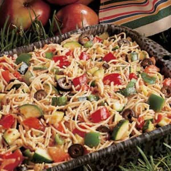 California Style Pasta Salad Recipe