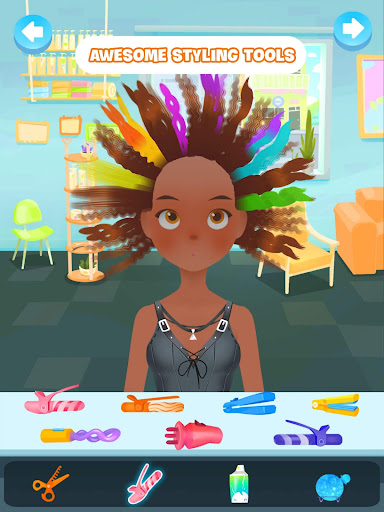 Hair salon games screenshot 6