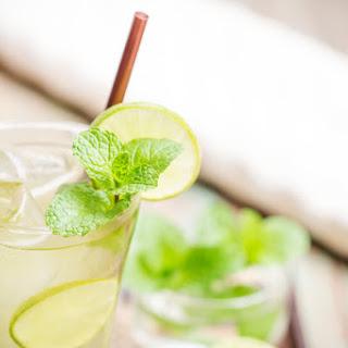 Organic Lemon-Ginger Iced Green Tea