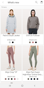 lululemon Screenshot