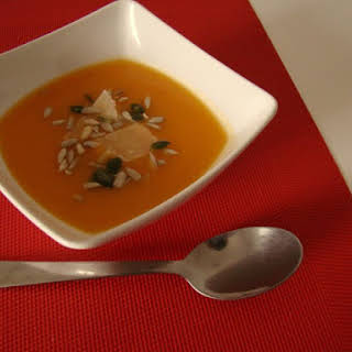 Pumpkin Cream Soup.