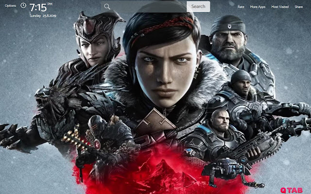 GEARS 5 Wallpapers New Tab Theme
