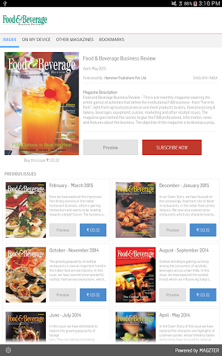 Food Beverage Business