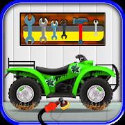 Quad Bike Repair Salon – Auto mechanic Workshop