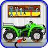 Quad Bike Repairing Salon – Auto mechanic Workshop