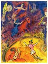 """Photo: Marc Chagall, """"Il circo"""", tavola XXIV"""