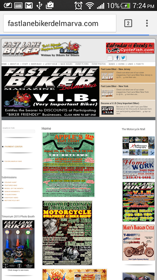 Fast Lane Biker Delmarva- screenshot