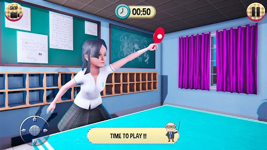 Virtual High School Girl Game 3D MOD (Unlimited Money) 5