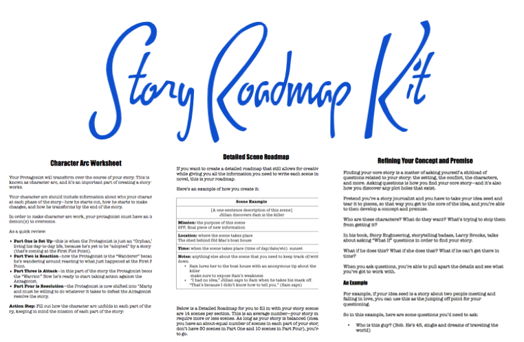 storydeconstructionfiles – Story Arc Worksheet