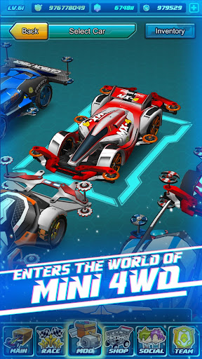 Mini Legend - Mini 4WD Simulation Racing Game! 2.3.2 screenshots 1