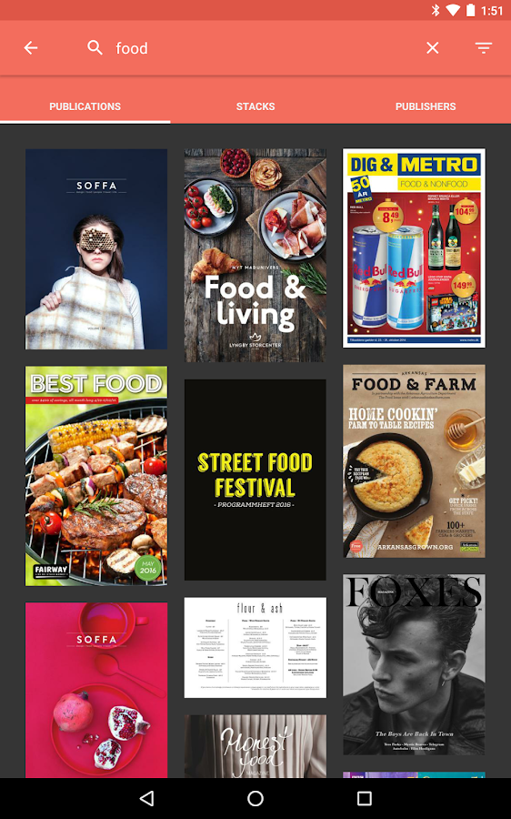 issuu: A world of magazines- screenshot