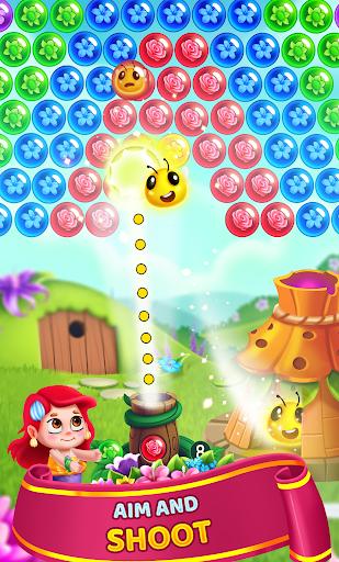 Flower Games - Bubble Shooter 3.7 screenshots 2