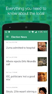 News24 Elections- screenshot thumbnail