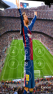 Lionel Messi lock screen with HD photos 2018 - náhled